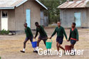 Kajiado School - Getting Water