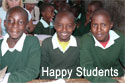 Kajiado School - Happy Students